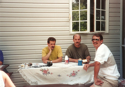 Greg, Bob & Tom - Canton 7/92