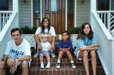 Thompson's & Katie visit Durham    8/92