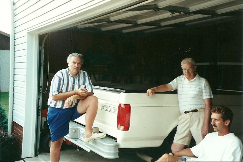Tom Brennan, Dad Cerne, Greg    7/93