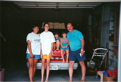 Deb & Bob Cerne family with Catherine    7/93