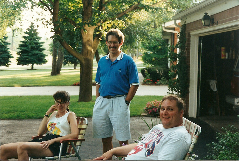 Barb, Ed, Jr., John   7/93
