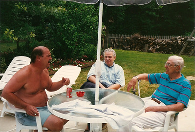 Bob, Tom, Dad Cerne   7/96