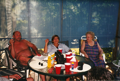 Bob, Debby, Evelyn Baad   7/99