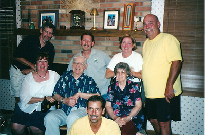 Mom & Dad Cerne & kids - 2002