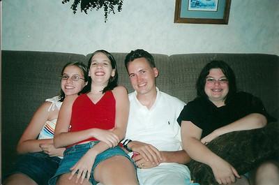 Anna, Brandy, Edward III, Kelly  7/03