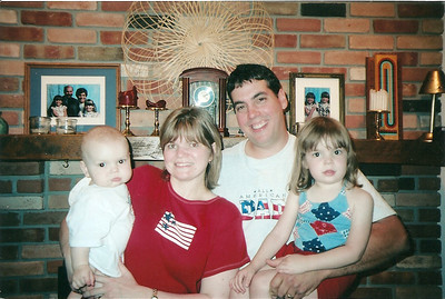 Justin, Jill, Eddie & Laina Brennan    7/03