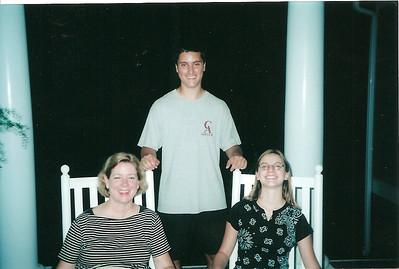 Jan, Johnny & Anna visiting Durham   7/03