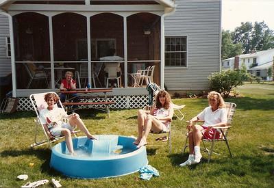 Jane, Barb & Caroline   7/90