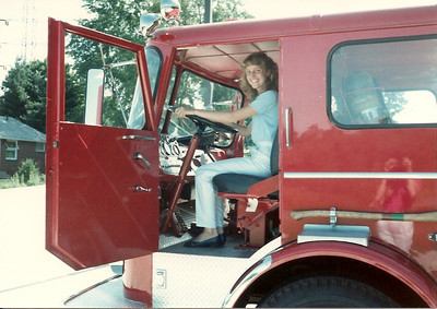 Canton - July '83 - visit to Uncle Bob's Fire Station