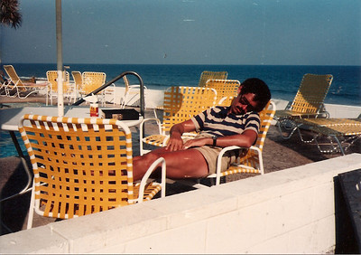 Ed enjoying the Myrtle Beach - Summer '85