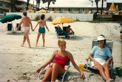 Caroline, Melanie - Summer '85 - Myrtle Beach, SC