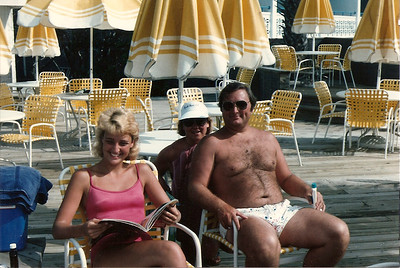 Caroline, Jan, John - Myrtle Beach, SC - Summer '85