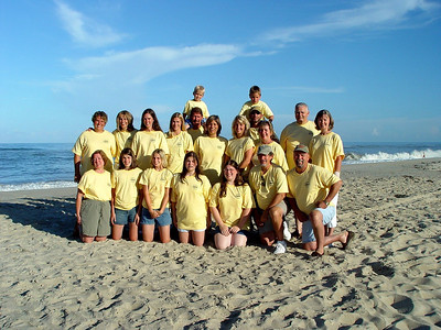 Cerne Family Reunion - Outer Banks 7/04 - at the time, missing Edward  Cerne III, Greg & family, Bridget, Tommy Brennan & family, Eddie Brennan and family, Colleen Bailey & family, Johnny Thompson
