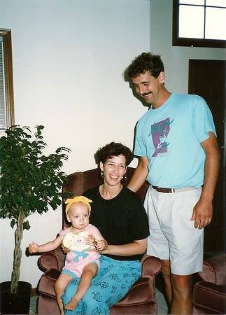 Maddie, Jane, Greg 7/89