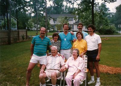 Mom & Dad Cerne with their children  7/89