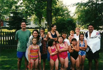 All Cerne Grandchildren in attendance (and Caleb)   7/98