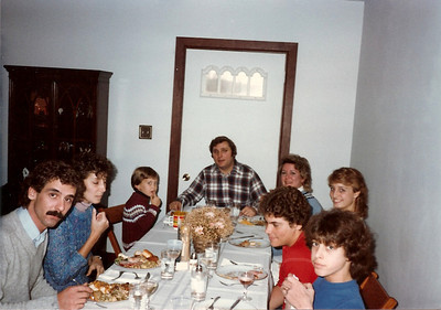 Thanksgiving '83 at the Thompson Farm