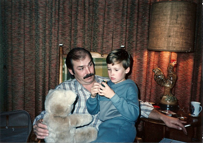 Thanksgiving '84 - Edward III ,Uncle Bob and Fluffy