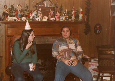 Barb & John - New Year's Eve 1979