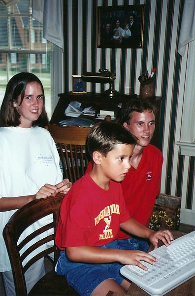 Thompson's visit Durham  9/94