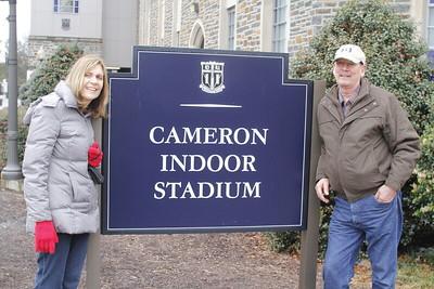Tom & Barb visit Durham 2/2013
