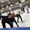 Ice skating race