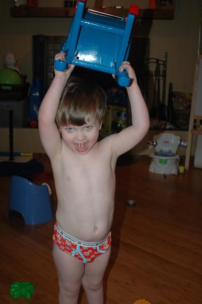 potty training!