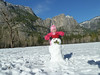 Charlee and Frosty / Yosemite Falls 12/23/2010