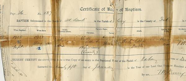 Charles Benjamin Fisher's Wallet