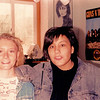 1988 - with friend