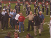 Pap shaking Mr. Giel's hand<br /> There is a videographer...<br /> Lisa (Titan) '06 unbiased awesome sports announcer!!
