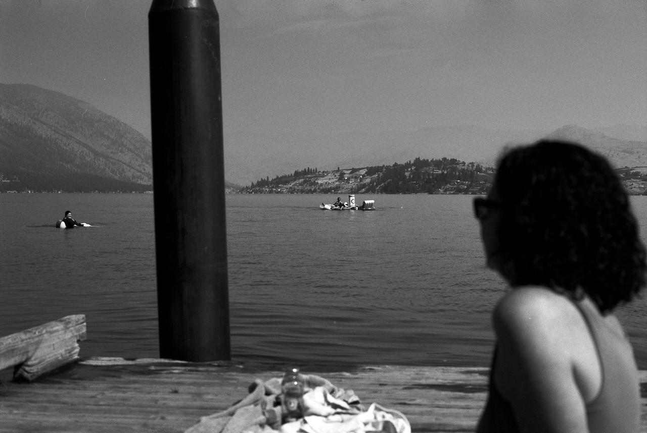 Lake Chelan B&W 2