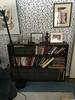 Book case in J's room