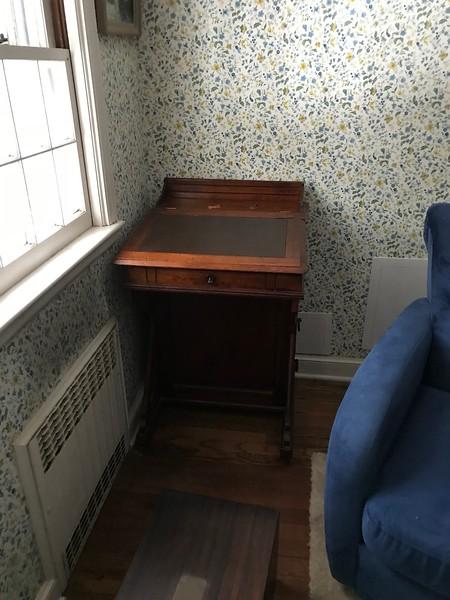 captain's desk in Alice's room