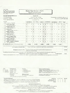 JDS-Report Card-Grade 10