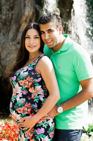 Cheryl & Vishal Maternity