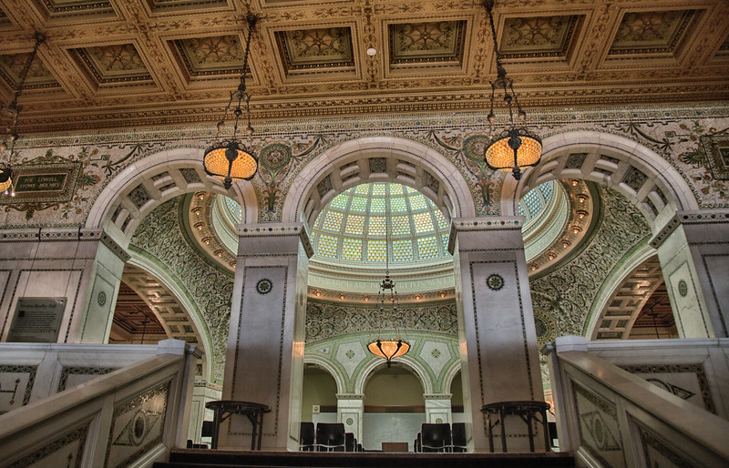 The Chicago Cultural Center is a People's Palace – a celebration of the arts, education, Chicago, and the world. Constructed over 100 years ago as the Chicago Public Library and a Civil War memorial, the Chicago Cultural Center reflects the best of Chicago.