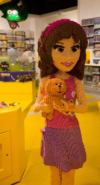 Girls love LEGO