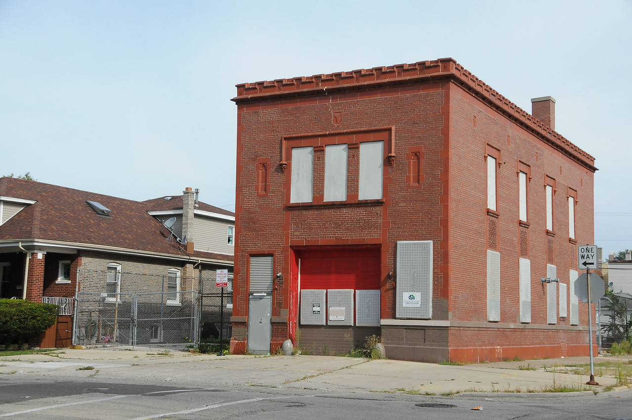 This was a fire station at one time