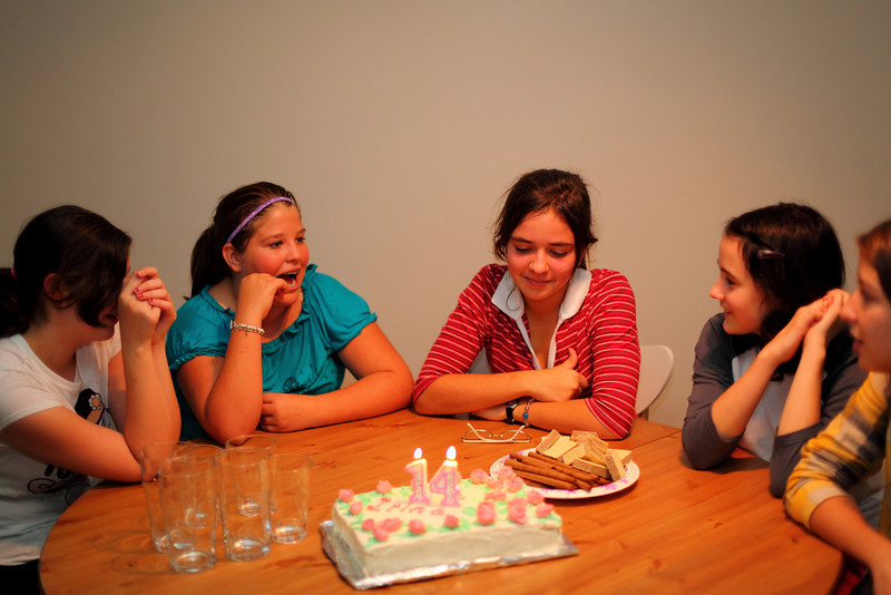 Ira's 14th b-day party