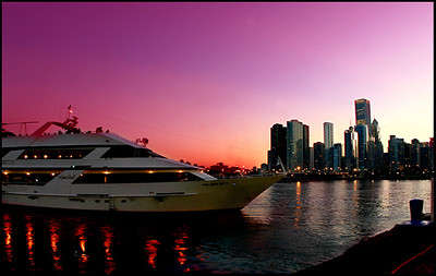 View from Chicago's Navy Pier.