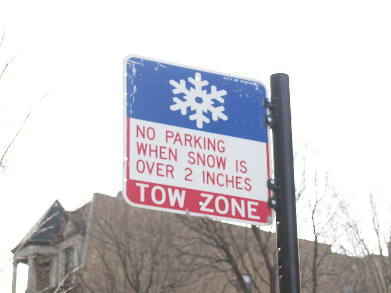 these signs are on most streets-think this would work in Boston?