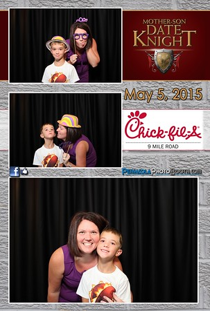 Chick-fil-A 9-Mile Rd. Mother Son Date Knight 5-5-15