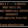 Video  # 7 ~~ 13 minutes -- South Side Turner Hall (Turnverein) Barenbrut & Paris night.