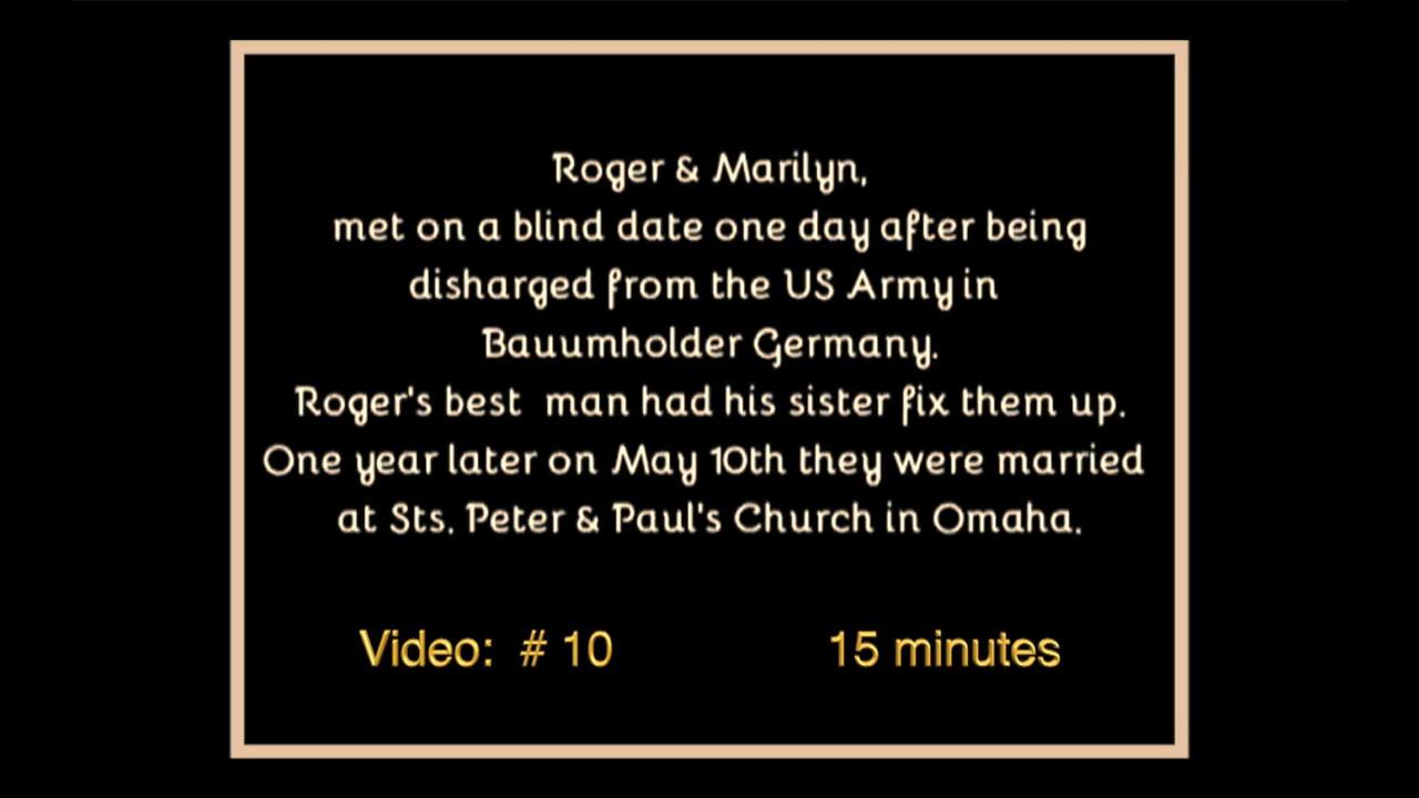 Roger & Marilyn's Wedding