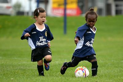 Children at Soccer
