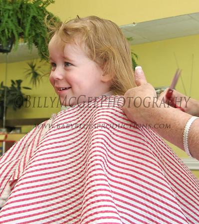 First Haircut - 16 Feb 2008