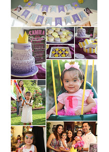 Camila First Birthday Collage-1