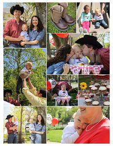 Henry Kuzma Birthday Collage