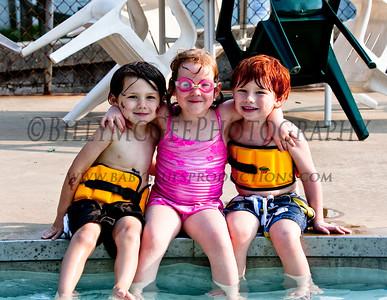 Swimming Pool Fun - 22 Jul 09